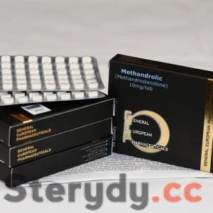METHANDROLIC 10 mg tabl.