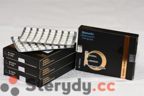 STANOLIC 10 mg tabl.