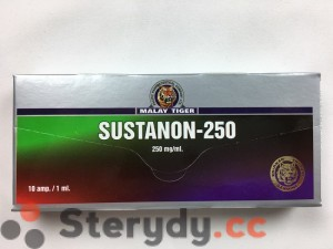 przód pudełka Sustanon-250